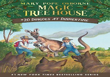 [+]The best book of the month Magic Tree House 20 Dingoes At Dinnertime  [NEWS]