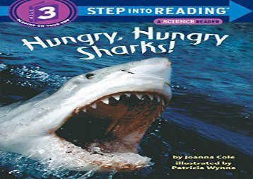 [+]The best book of the month Step into Reading Hungry Sharks # (Step Into Reading - Level 3 - Quality)  [FREE]