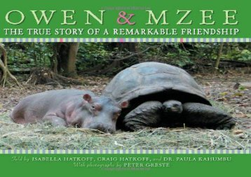 [+]The best book of the month Owen   Mzee: The True Story of a Remarkable Friendship  [NEWS]