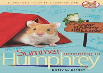 [+][PDF] TOP TREND Summer According to Humphrey (Humphrey (Quality))  [FREE]