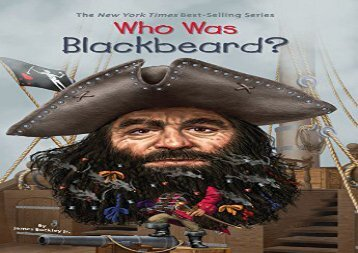 [+]The best book of the month Who Was Blackbeard? (Who Was...? (Quality Paper))  [FULL]