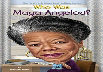 [+][PDF] TOP TREND Who Was Maya Angelou? (Who Was...? (Quality Paper)) [PDF]