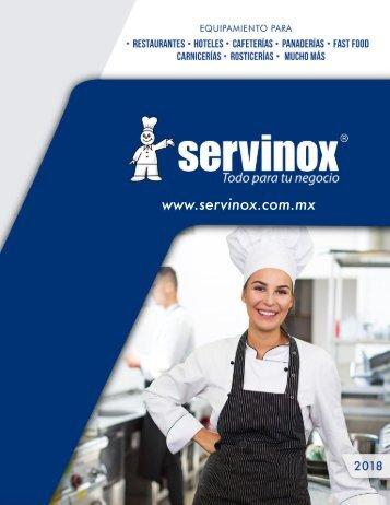 Brochure Servinox 2018