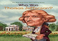 [+]The best book of the month Who Was Thomas Jefferson?  [FULL]