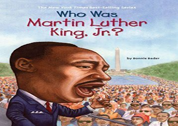 [+]The best book of the month Who Was Martin Luther King, Jr.?  [FREE]
