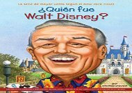 [+]The best book of the month Quien Fue Walt Disney?  [FREE]