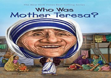 [+]The best book of the month Who Was Mother Teresa? (Who Was...? (Quality Paper))  [FREE]
