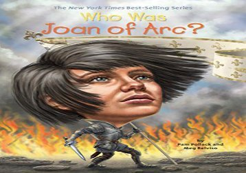 [+][PDF] TOP TREND Who Was Joan of Arc? (Who Was...? (Quality Paper)) [PDF]