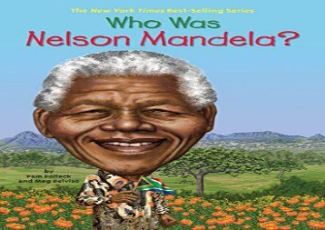 [+][PDF] TOP TREND Who Was Nelson Mandela?  [FULL]
