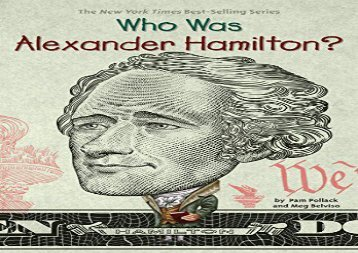 [+]The best book of the month Who Was Alexander Hamilton? (Who Was...? (Quality Paper))  [FREE]