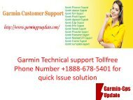 Garmin Technical support Tollfree Phone Number +1888-678-5401 for quick Issue solution