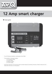 12 AMP Smart Charger User Guide