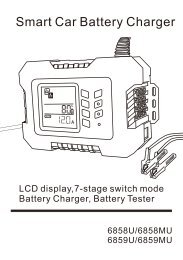 Smart Car Battery Charger