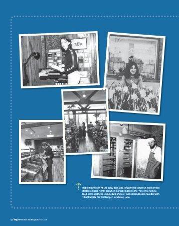 Ingrid Newkirk in PETA's early days (top left); Mollie Katzen at ... - You