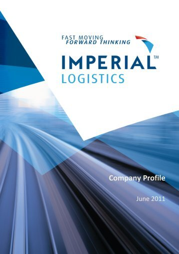 Company Profile - the Transport Forum