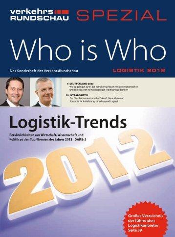 Zehn Jahre Logistik-Trends - Verkehrsrundschau