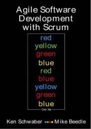 Read E-book Agile Software Development with SCRUM: International Edition - Ken Schwaber [PDF Free Download]
