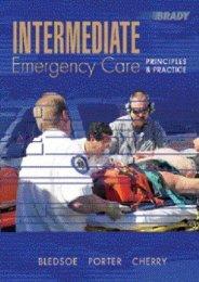 Read Aloud Intermediate Emergency Care: Principles and Practice - Bryan E. Bledsoe [Full Download]