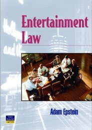 Download Entertainment Law (West Legal Studies (Hardcover)) - Adam Epstein [Full Download]