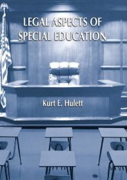 Read Legal Aspects of Special Education: A Practitioner s Guide - Kurt E. Hulett [Full Download]