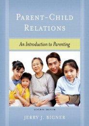 Download Parent-Child Relations: An Introduction to Parenting - Jerry J. Bigner [PDF File(PDF,Epub,Txt)]