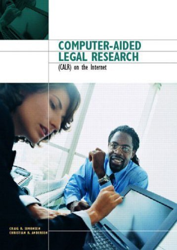 Read Aloud Computer-Aided Legal Research on the Internet - Craig B. Simonsen [PDF Free Download]