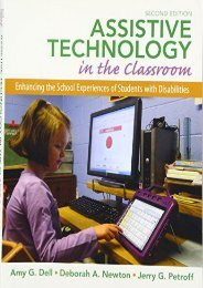 Read Aloud Assistive Technology in the Classroom: Enhancing the School Experiences of Students with Disabilities - Amy G. Dell [PDF Free Download]
