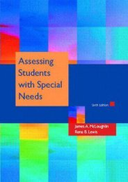 Read Aloud Assessing Students with Special Needs - James A. McLoughlin [PDF Free Download]