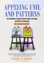 Read E-book Applying UML and Patterns: An Introduction to Object-Oriented Analysis and Design and Iterative Development - Craig Larman [Ready]