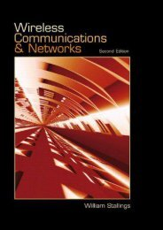 Read E-book Wireless Communications   Networks - William Stallings [Ready]