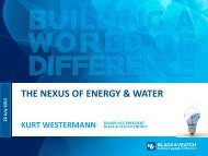 The Nexus of Energy & Water - IEEE Power & Energy Society