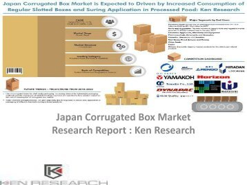 Corrugated Box Manufacturers Japan, Corrugated Packaging Market, Single, Double, Triple Flute Corrugated Box : Ken Research