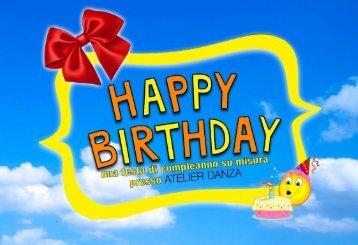 Happy Birthday   ATELIER • DANZA   PhotoGallery