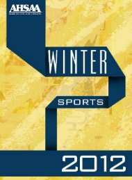 2012 Winter Sports Book - AHSAA