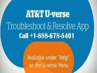 At&t u-verse phone number +1-888-678-5401 at&t u-verse Technical Or Customer support Service phone number