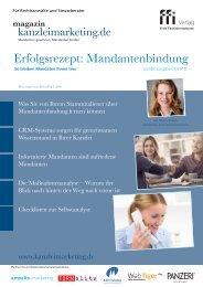 eMagazin kanzleimarketing.de: Sonderausgabe