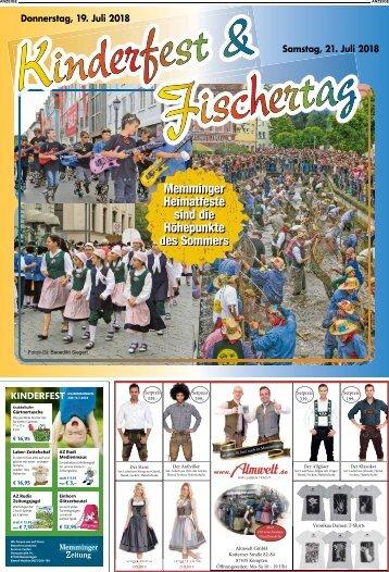 Kinderfest und Fischertag in Memmingen