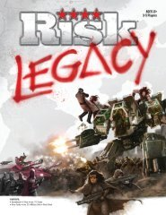 Risk Legacy 35596 Instructions - Hasbro