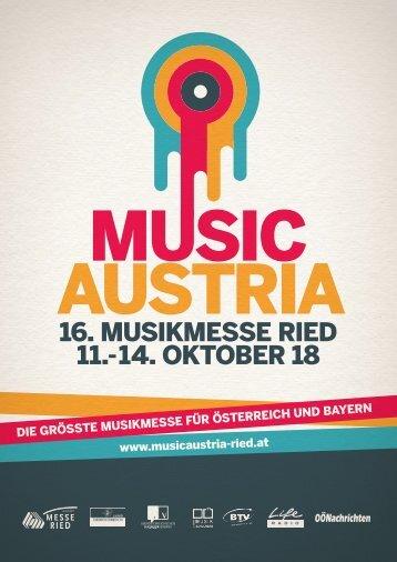 MUSIC AUSTRIA Imagebroschüre