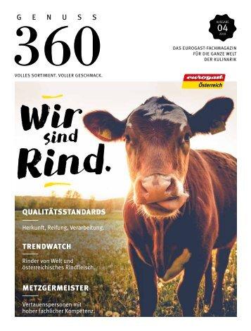 Eurogast Österreich Genuss360 Wir sind Rind