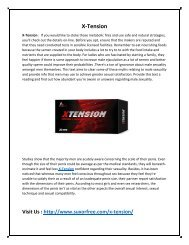 Completely Safe and Natural Formula with X-Tension