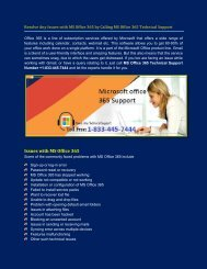 Microsofto office 365 Customer Support Number +1-833-445-7444