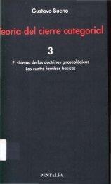 1993 - Gustavo Bueno - Teoria del Cierre Categorial-Tomo-3. Pentalfa. 1993