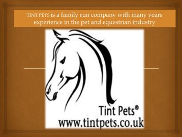 horse an dog products in uk