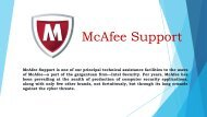 Contact Mcafee Support Help @ 800 014 8285 - Mcafee Support for Antivirus in UK