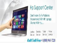 Dial +1(888) 963-7228 How To Fix HP Computer PXE Error Code Message