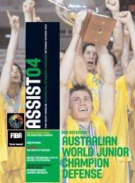 australian world junior champion defense - Guyana Basketball