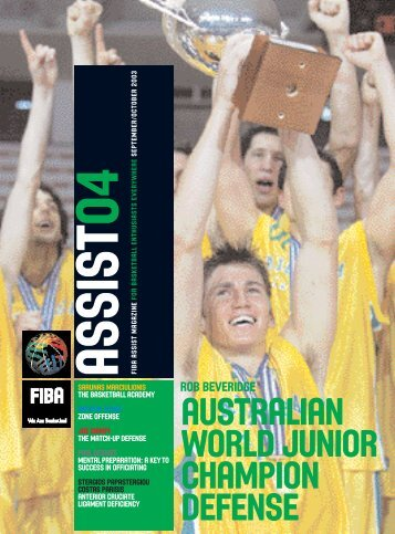 australian world junior champion defense - Guyana Basketball
