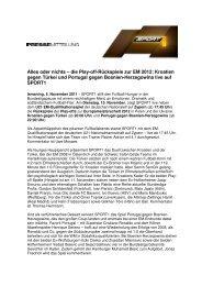 Alles oder nichts – die Play-off-Rückspiele zur EM 2012 ... - Sport1