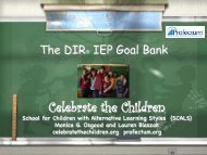 DIR® IEP Goal Bank